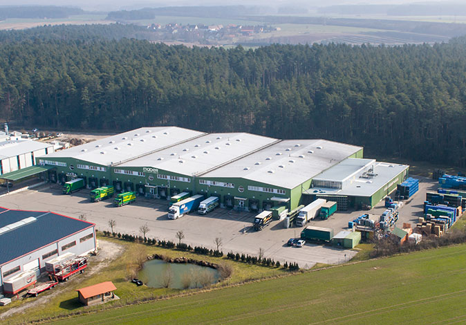 Mader Logistik Zentrale Ansbach